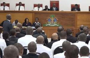 HAITI: Le président provisoire sera installé le 14 février