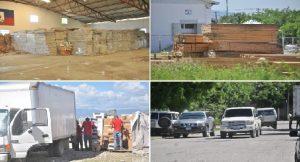 Haiti: Députés, Sénateurs et officiels du gouvernement contrôlent un dépôt d'aide aux sinistrés à la SONAPI