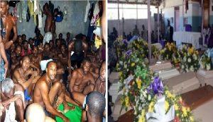 Haiti:  Funérailles de 20 détenus du pénitencier national à l'initiative de Me Danton Léger