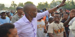 Haiti: Le Président Jovenel Moïse hué par un groupe de personnes au Cap-Haïtien