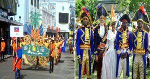 Monde: Haïti brille au parcours du XIIIe défilé artistique de CARIFESTA