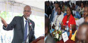 Haiti: Le Président de la République accueille tous les CASEC du pays au Palais national