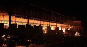 Haiti: Un témoin aurait vu les auteurs de l'incendie du Marché en fer