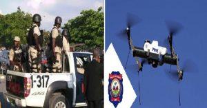 Haiti: Port-au-Prince et environs désormais sous surveillance de drones et de caméras!