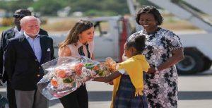 Haiti: Sa Majesté Reine d'Espagne Letizia ORTIZ entame sa visite de deux jours