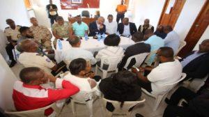 Haiti: Réunion de haut niveau à Belladère suite aux incidents à la frontière