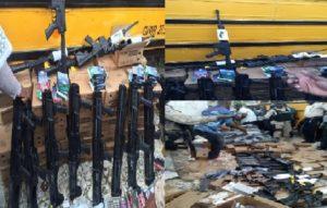 Monde: Une cargaison d'armes á feu à destination d'Haïti, saisie en Floride