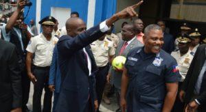 Haiti: Le Président Jovenel Moïse visite plusieurs commissariats et sous commissariats