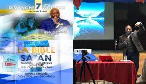 Monde: Lancement du dernier ouvrage du Dr Jean Fils-Aimé «LA BIBLE N'ENSEIGNE PAS SATAN»
