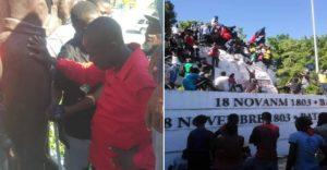 Haiti: Des parlementaires désapprouvent majoritairement l'acte posé par Moise Jean Charles à Vertières